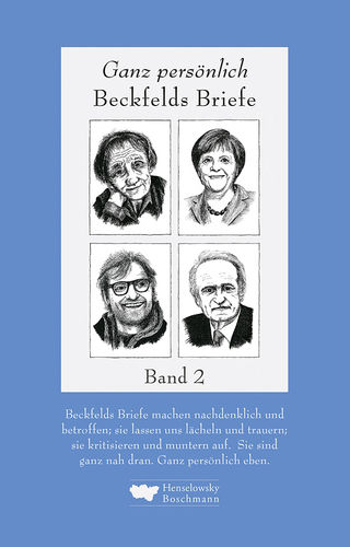 Beckfeld, Hermann: Beckfelds Briefe. Band 2