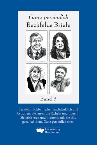 Beckfeld, Hermann: Beckfelds Briefe. Band 3